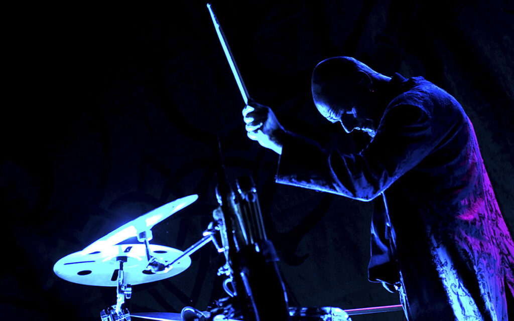 Schlagzeuger Rüdiger Maul